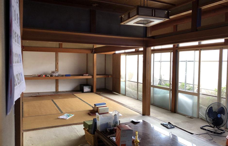 加古川市の1階まるごと+屋根葺き替え+外壁張り替えリノベーション5