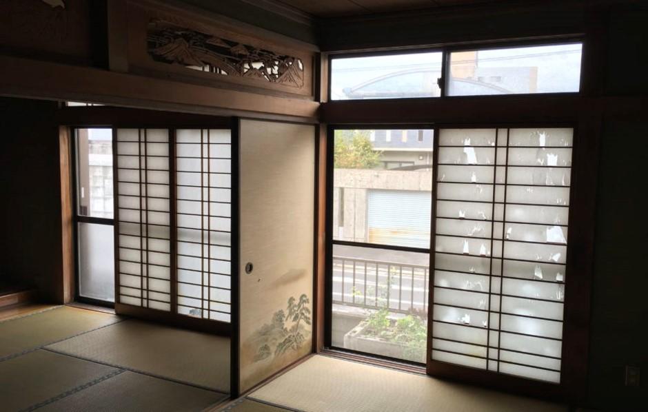 築40年の古家を全面リノベーション!和室3部屋を繋げた広々LDK!5